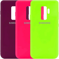 Чехол Silicone Cover My Color Full Protective (A) для Samsung Galaxy S9+