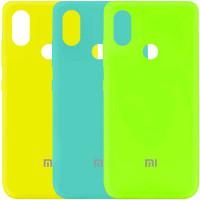 Чехол Silicone Cover My Color Full Protective (A) для Xiaomi Mi A3 Lite