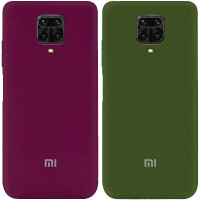 Чехол Silicone Cover My Color Full Protective (A) для Xiaomi Redmi Note 9s/Note 9 Pro/Note 9 Pro Max