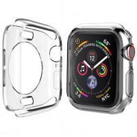 Чехол TPU прозрачный 360 для Apple Watch 40mm