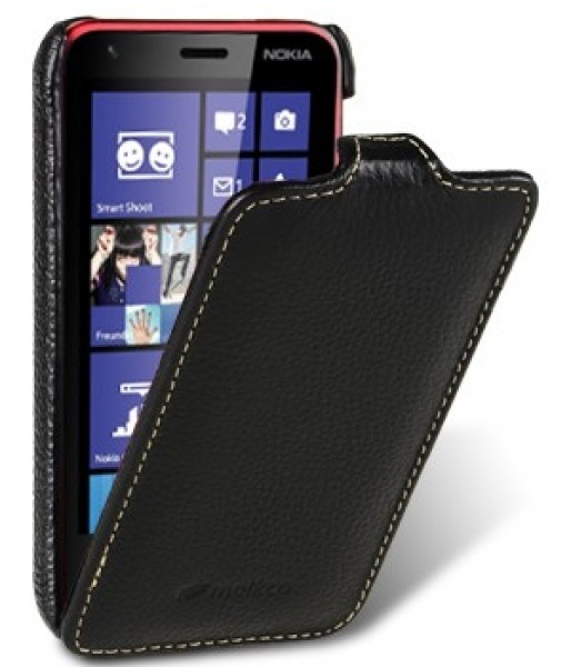 Чохол-фліппер Melkco Leather Case Jacka Black for Nokia Lumia 620 (4 цвета)