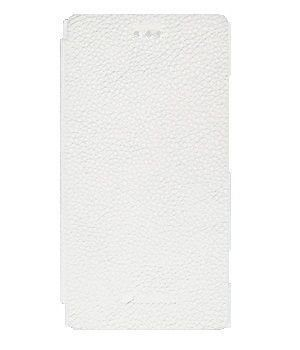 Чехол-книжка Melkco Leather Case Jacka Face Cover Book White Sony Xperia J ST26i