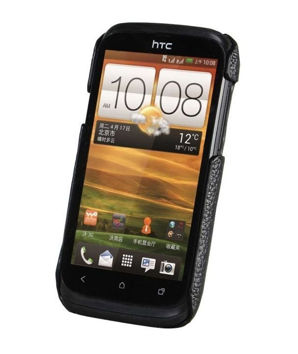 Фото Чохол-накладка Melkco Leather Snap Cover Black for HTC Desire V T328w/X T328e на itsell.ua