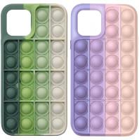 """Cиликоновый 3D чехол-антистресс Pop it для Apple iPhone 12 Pro Max (6.7"""")"""