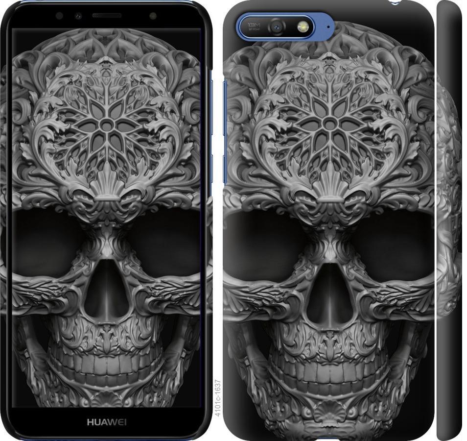Чехол на Huawei Y6 2018 skull-ornament