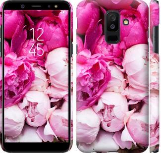 Чехол на Samsung Galaxy A6 Plus 2018 Розовые пионы