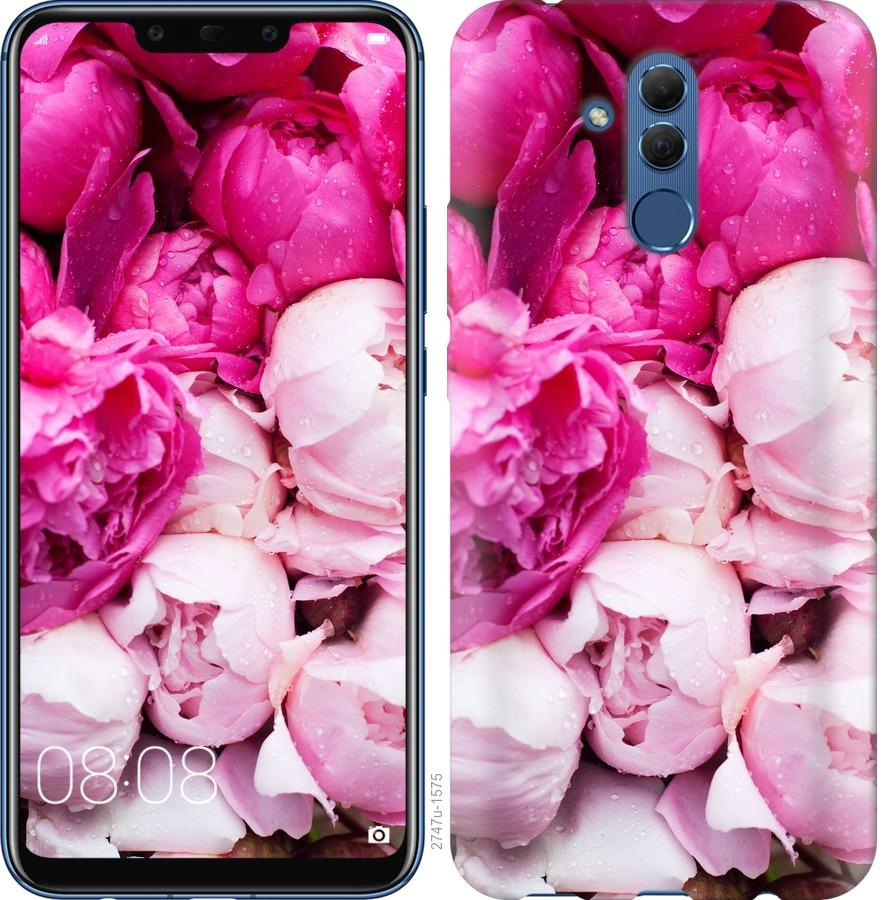 Чехол на Huawei Mate 20 Lite Розовые пионы