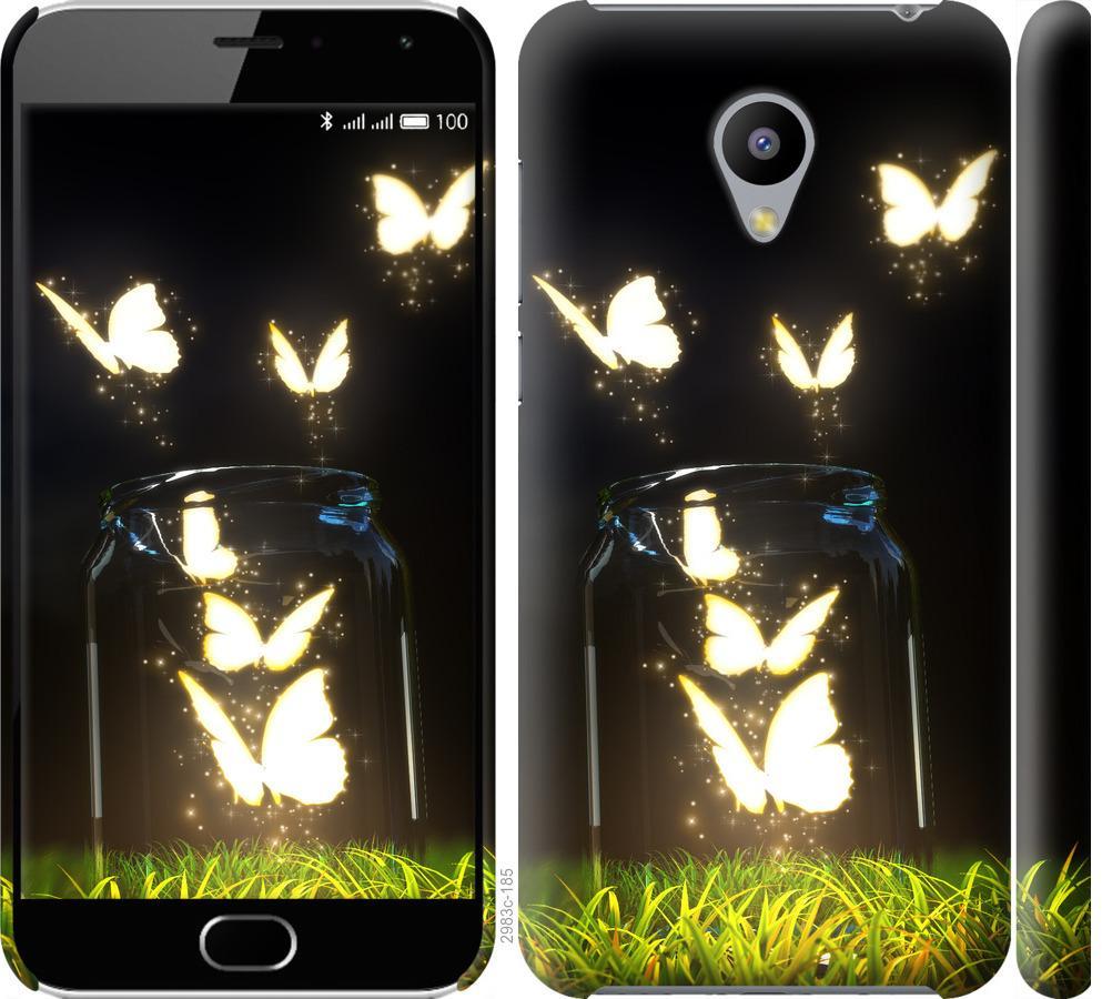 Чехол на Meizu M2 Бабочки