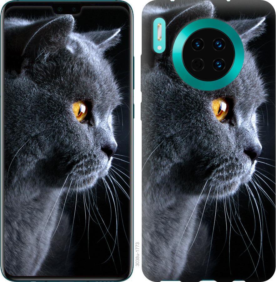 Чехол на Huawei Mate 30 Красивый кот