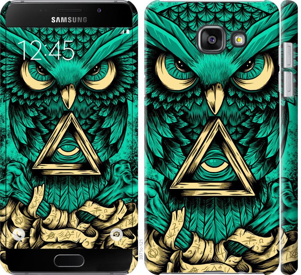 Чехол на Samsung Galaxy A7 (2016) A710F Сова Арт-тату