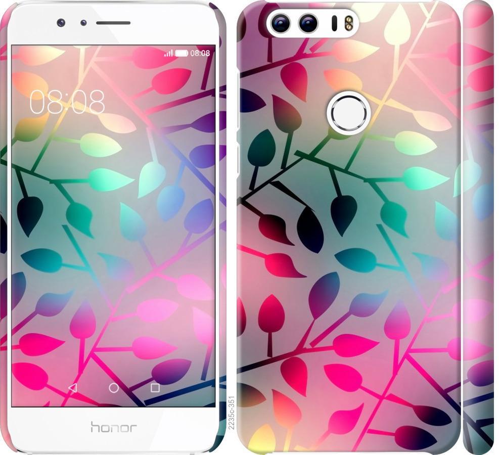 Чехол на Huawei Honor 8 Листья