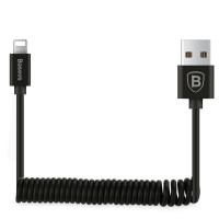 Дата кабель Baseus Elastic USB to Lightning 1.8A  (1.6m)