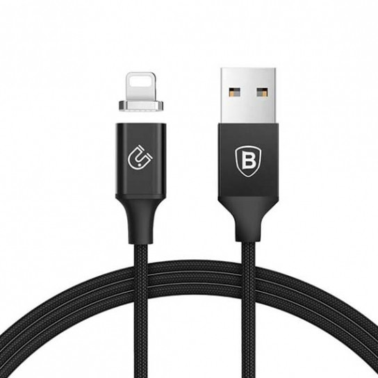 Дата кабель Baseus Magnetic Series USB to Lightning (1.2m)