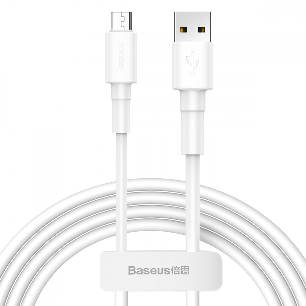 Дата кабель Baseus Mini MicroUSB Cable 2.4A (1m)