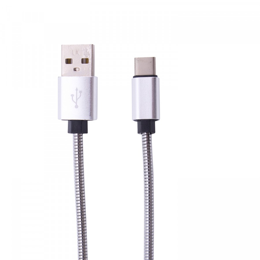 Фото Дата кабель Fast metall C1 USB to Type-C (2.4A) (1 цвет) на itsell.ua