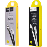 Дата кабель Hoco X4 Zinc Alloy Rhombic Micro USB Cable (1.2m)