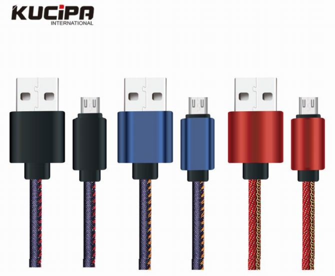 Дата кабель Kucipa K177 круглый USB to MicroUSB (2.5A) (100см)