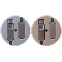 Перехідник LDNIO LC90C OTG USB to MicroUsb / Type-C (Combo) 1m