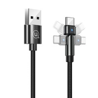 Дата кабель USAMS US-SJ477 U60 Rotatable USB to Type-C (1m)