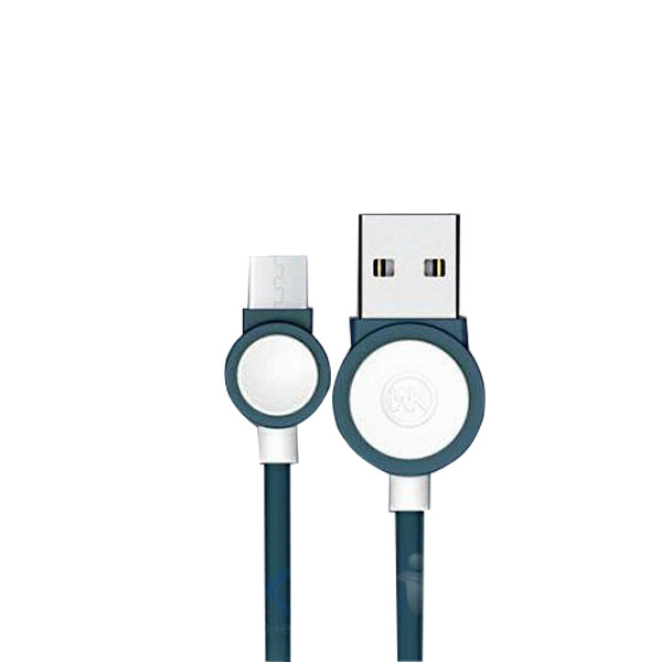 Дата кабель WK- Drum 2.1A USB to MicroUSB (1m)