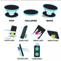 Купить Держатель для телефона попсокет (Popsocket) (пластик круглый), Epik