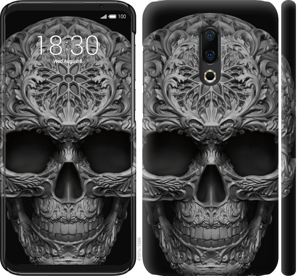 Чехол на Meizu 16 Plus skull-ornament