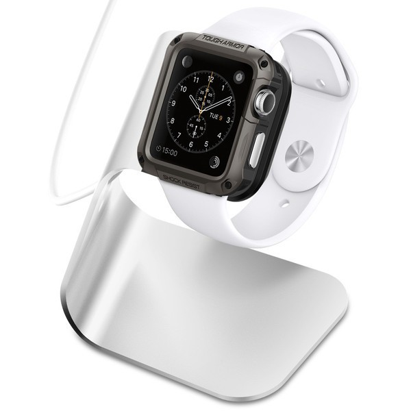 Фото Док-станция SGP S330 для Apple watch (38mm/42mm) Метал / Aluminium / SGP11555 в магазине itsell.ua