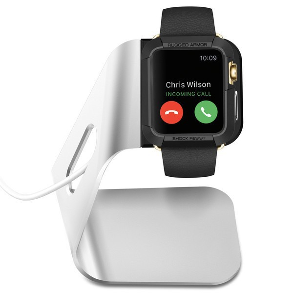 Док-станция SGP S330 для Apple watch (38mm/42mm) Метал / Aluminium / SGP11555 на itsell.ua