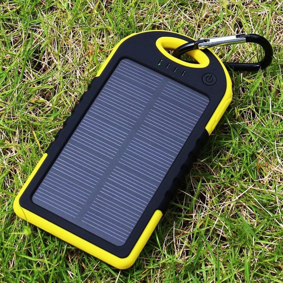 Внешние аккумуляторы с солнечной батареей