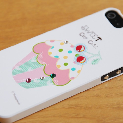 Пластиковая накладка Happymori Sweet Cup Cake Series для Apple iPhone 5/5S на itsell.ua