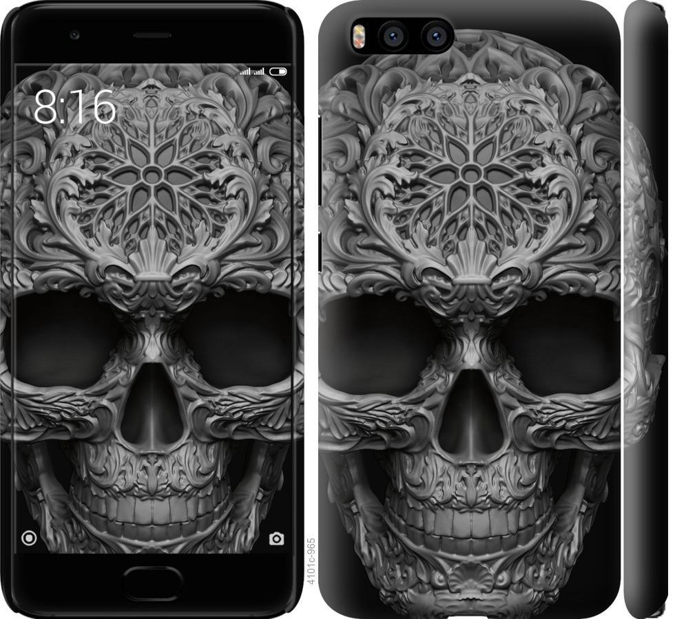 Чехол на Xiaomi Mi6 skull-ornament