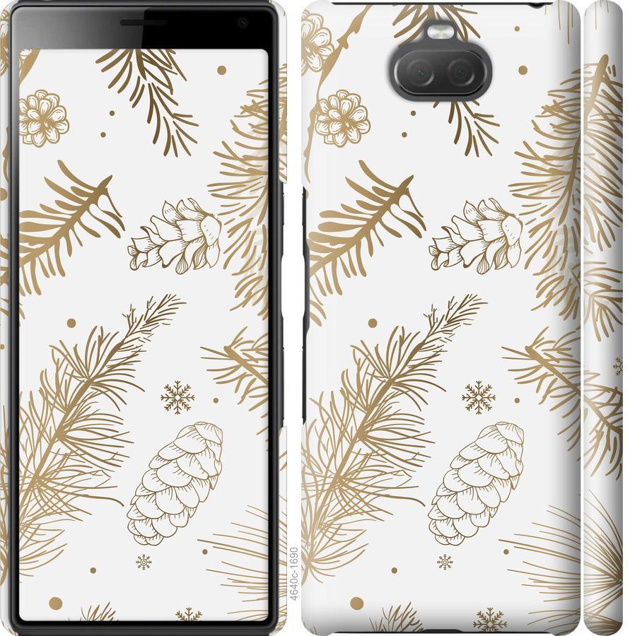 Чехол на Sony Xperia 10 Plus I4213 Зимний