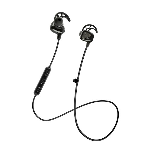 Фото Bluetooth гарнитура Promate - Vitally-1 Secure Fit Wireless Sporty Gear-Buds Черный на itsell.ua