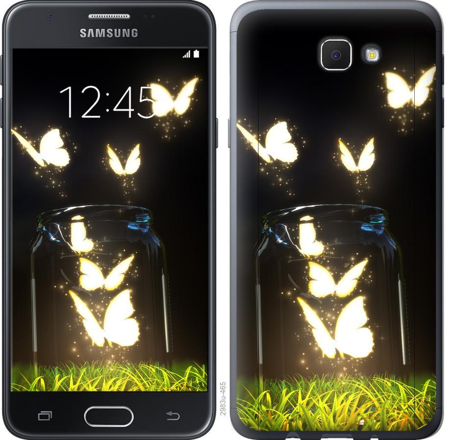 Чехол на Samsung Galaxy J5 Prime Бабочки