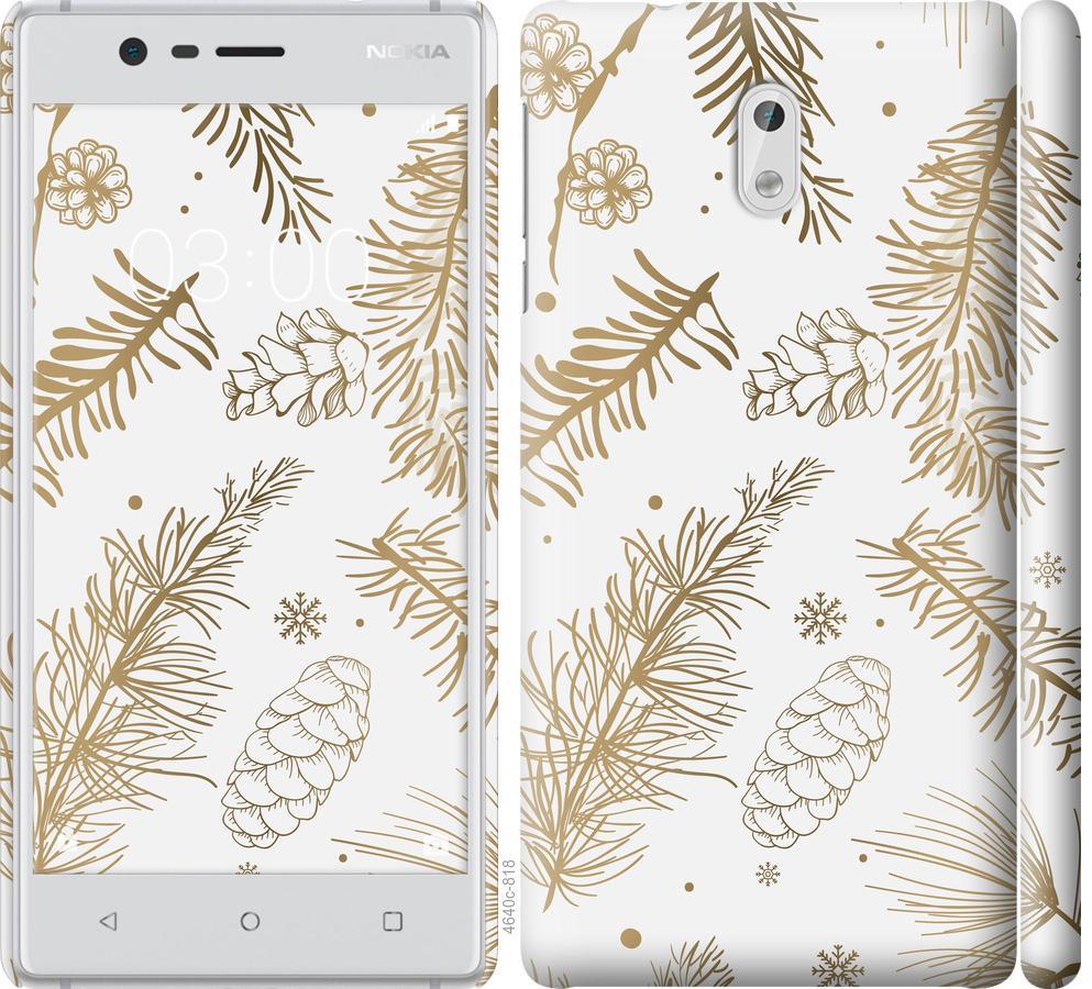Чехол на Nokia 3 Зимний