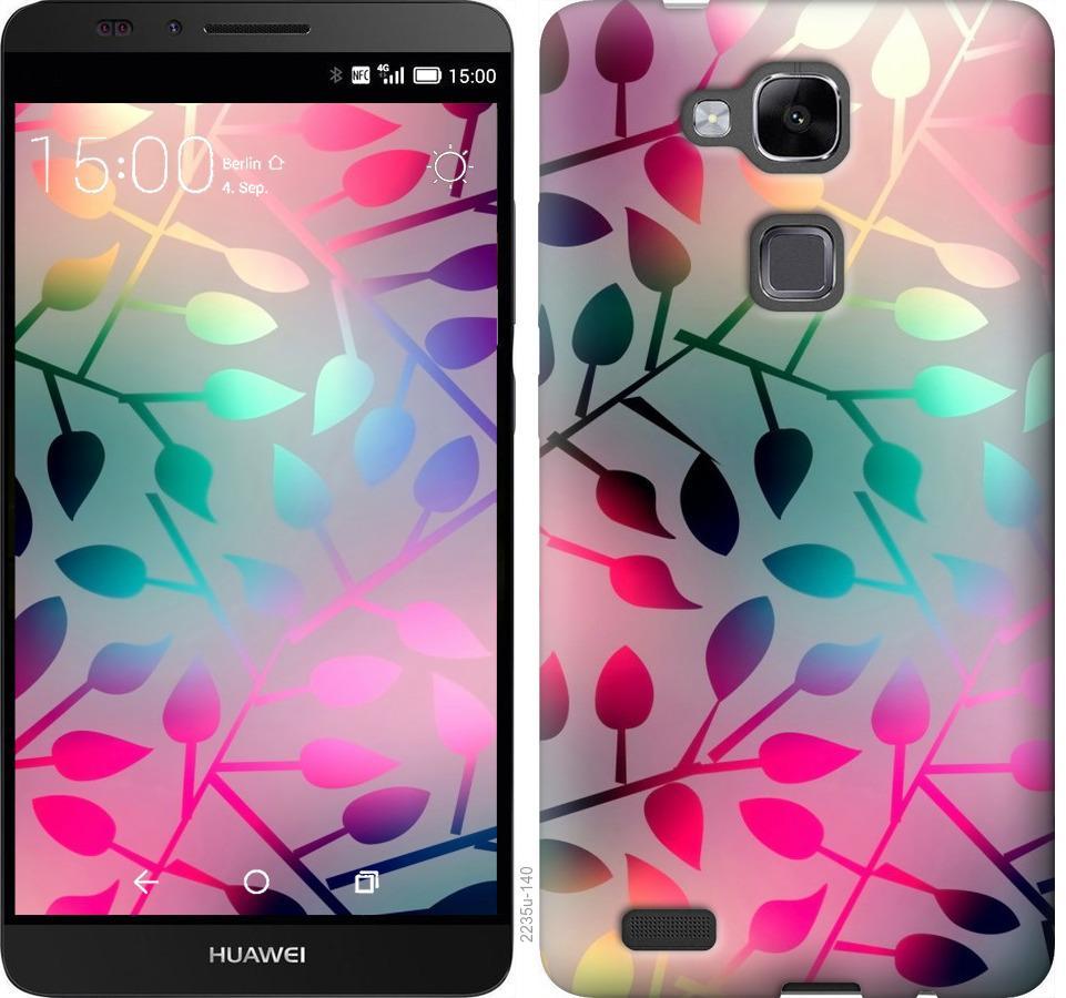 Чехол на Huawei Ascend Mate 7 Листья