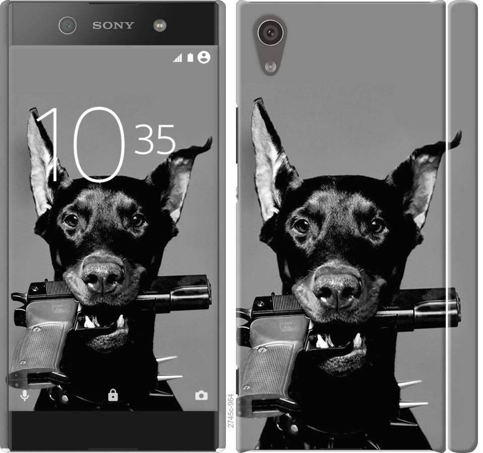 Чехол на Sony Xperia XA1 G3112 Доберман