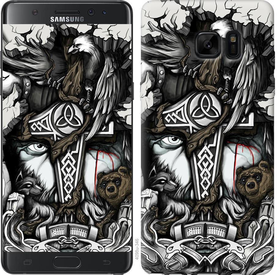 Чохол на Samsung Galaxy Note 7 Duos N930F Тату Викинг