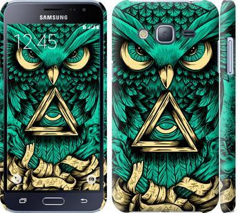 Чехол на Samsung Galaxy J3 Duos (2016) J320H Сова Арт-тату