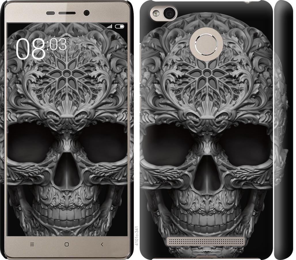 Чехол на Xiaomi Redmi 3s skull-ornament