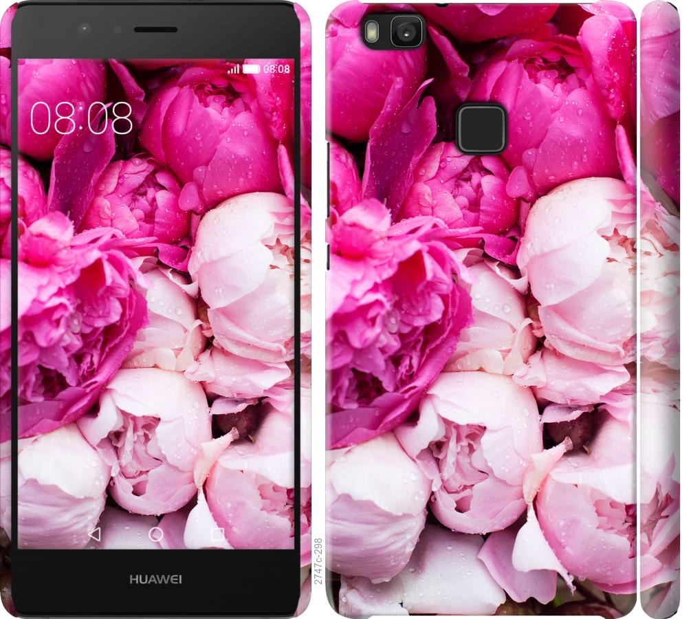 Чехол на Huawei P9 Lite Розовые пионы