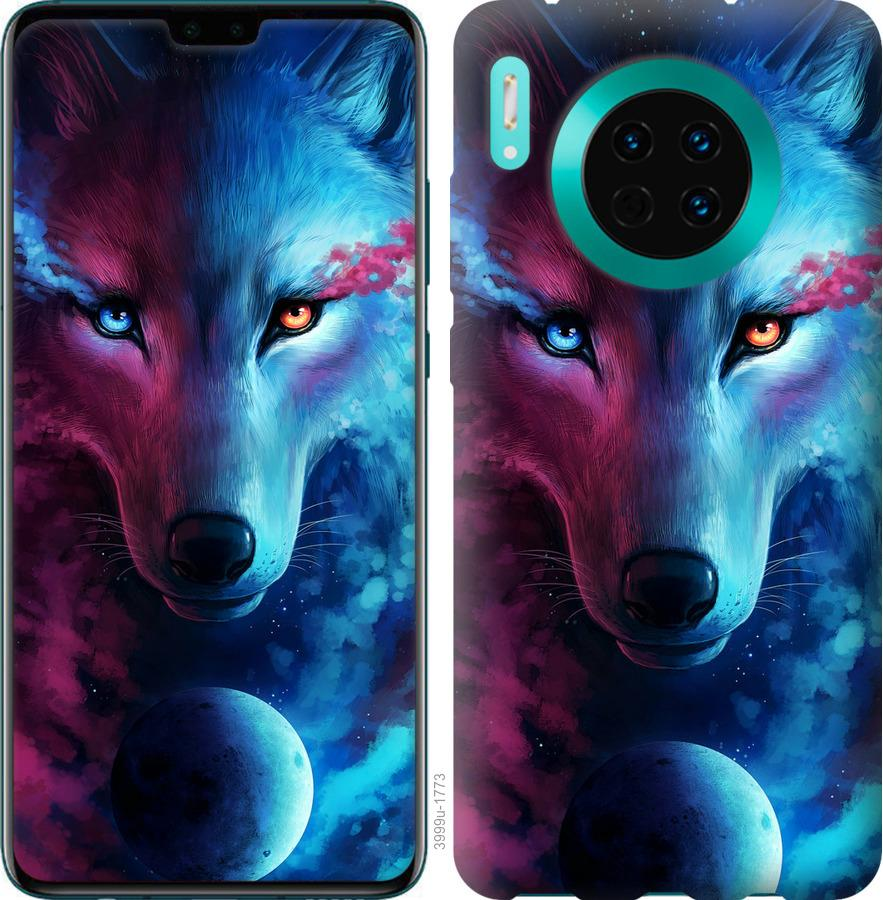 Чехол на Huawei Mate 30 Арт-волк