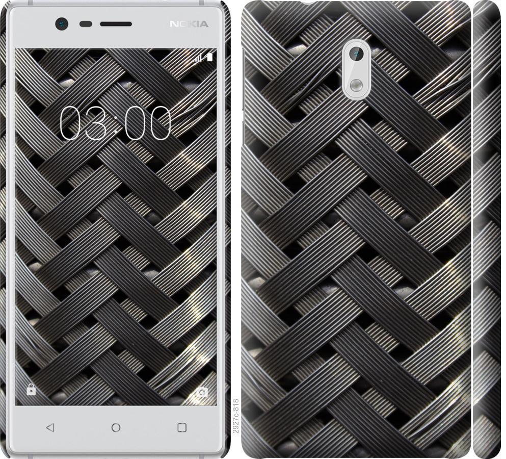 Чехол на Nokia 3 Металлические фоны