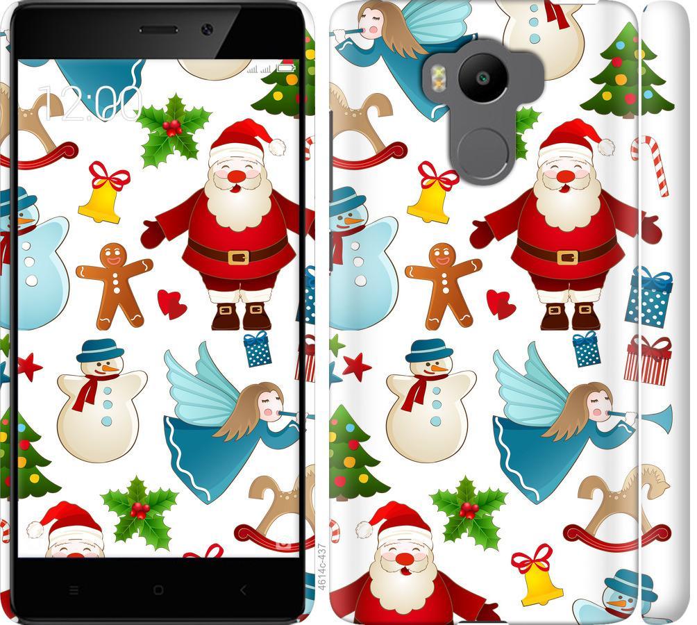 Чехол на Xiaomi Redmi 4 pro Новогодний 1