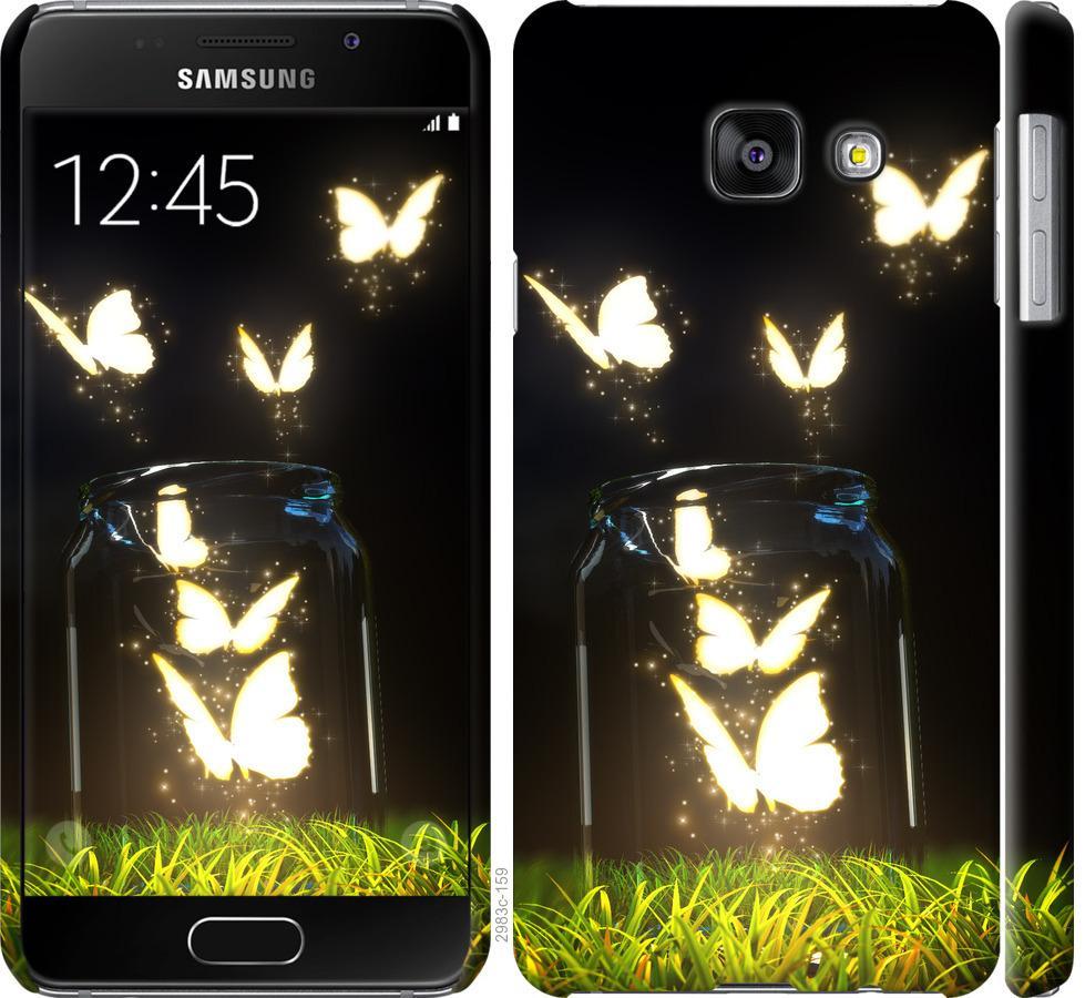 Чехол на Samsung Galaxy A3 (2016) A310F Бабочки