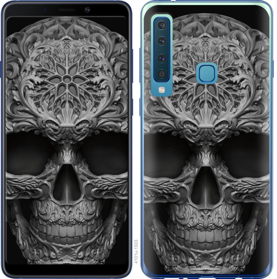 Чехол на Samsung Galaxy A9 (2018) skull-ornament