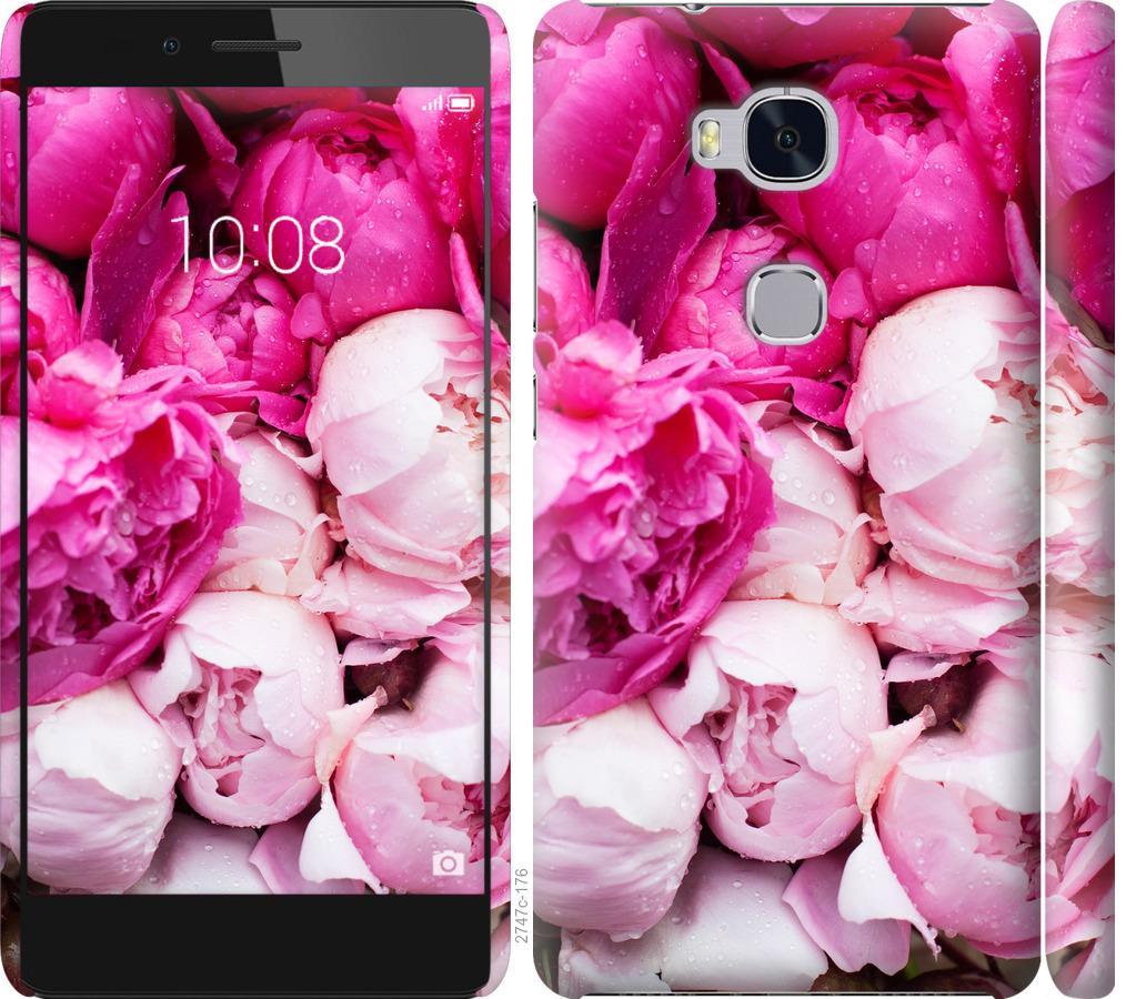 Чехол на Huawei Honor 5X Розовые пионы