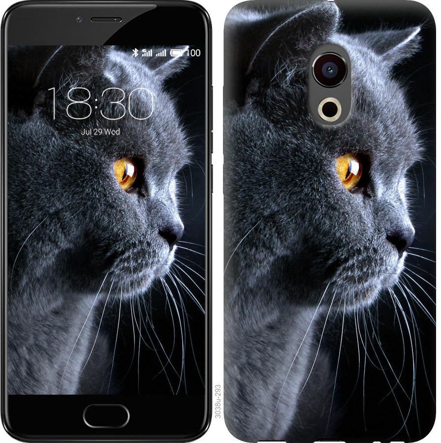 Чохол на Meizu Pro 6 Гарний кіт
