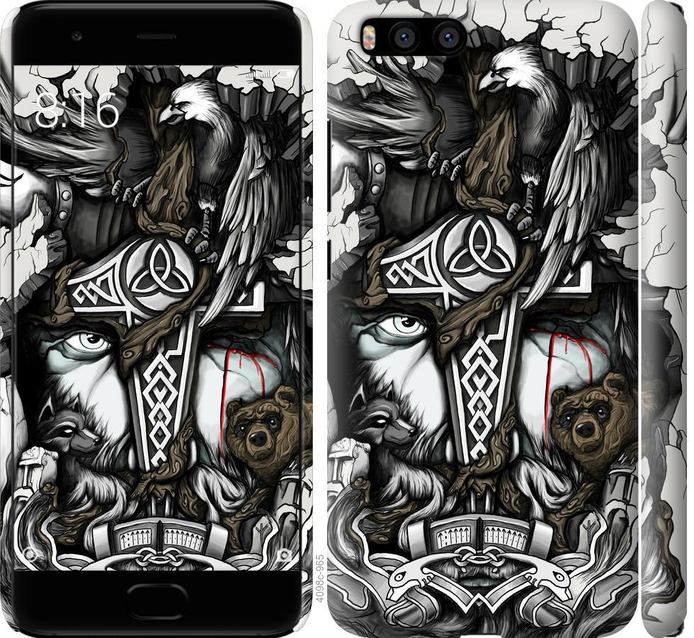 Чехол на Xiaomi Mi6 Тату Викинг
