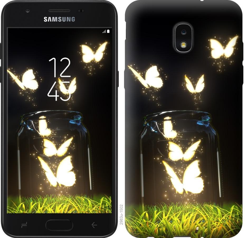 Чехол на Samsung Galaxy J7 2018 Бабочки